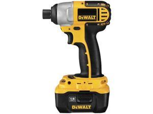 DeWALT 18V Heavy-Duty 1/4'' Cordless Impact Driver Kit w/ NANO Technology