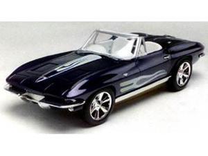 Revell 1/25 SnapTite 1963 Corvette Convertible Car Model Kit - 851934