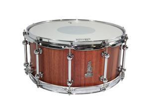 "Brady 14"" x 6.5"" Jarrah Block Snare Drum, Natural Satin"