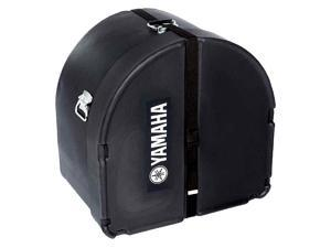 "Yamaha 14"" x 16"" Black Marching Bass Case"