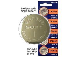 Sony CR2032 Lithium 3V Battery For Snark Tuners