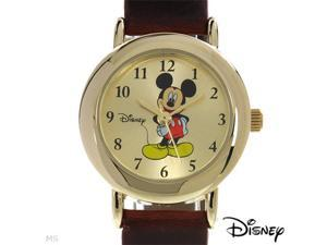 Disney Mickey Mouse Gold Dial Women's watch #MCK614