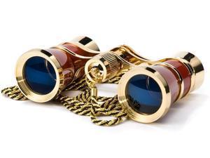 3x25 Blueline Opera Glasses w/ Neckalce