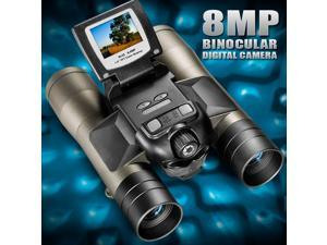 "Barska AH11410 8X32 Point N View Binocular Camera, 8.0MP, 1.5"" LCD"