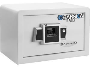 Barska Compact Biometric Safe BX-100 - White