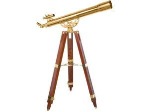 36 POWER TELESCOPE, 90080 BRASS REFRACTOR