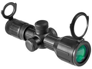 3-9X40IR CONTOUR RIFLE SCOPE, RUBBER,4A MIL-PLX