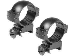 30MM HIGH WEAVER STYLE RINGS BLACK MATTE