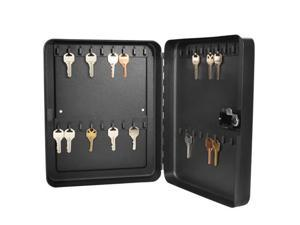 36 Position Key Safe with Combination Lock in Black