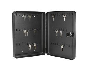60 Position Key Safe with Combination Lock in Black