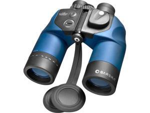 BARSKA Deep Sea 7x50 WP Waterproof Marine Binoculars Built-In Rangefinding Reticle and Compass