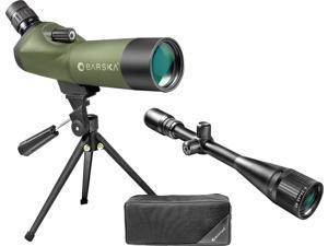 18-36x 50mm Blackhawk Spotting Scope & 6-24x42 Varmint Riflescope Combo