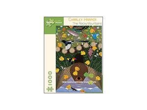 Charley Harper - The Rocky Mountains Puzzle: 1000 Pcs