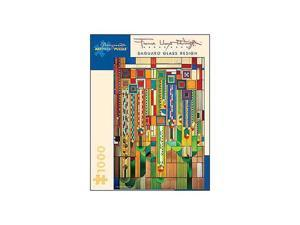 Frank Lloyd Wright - Saguaro Glass Puzzle: 1000 Pcs