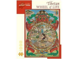 Tibetan Wheel of Life Puzzle - 1000-Piece