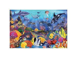 Underwater Floor Puzzle: 48 Pcs