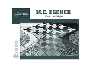 MC Escher Day and Night Puzzle: 1000 Pcs
