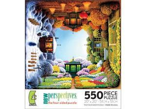 New Perspectives Four-Sided Puzzle - Four Seasons: 550 Pcs