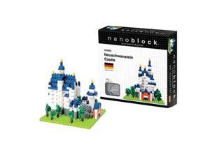 nanoblock Sites to See Level 3 - Neuschwanstein Castle: 550 Pcs