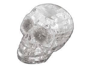 3D Crystal Puzzle - Skull (Clear): 48 Pcs