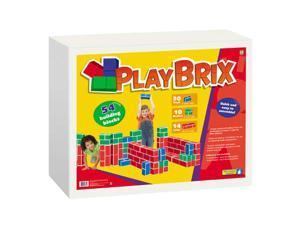 PlayBrix - 54 Building Blocks Set