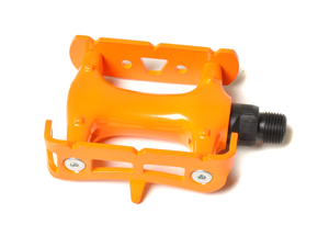 Orange Fixed Gear Pedal / Road Bike Pedal