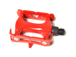 Red Fixed Gear Pedal / Road Bike Pedal