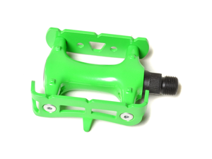 Green Fixed Gear Pedal / Road Bike Pedal