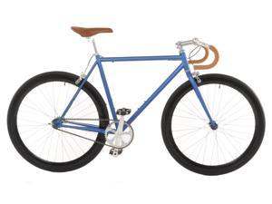 Vilano Attack Fixed Gear Bike Track Bike Matte Blue Medium (54cm)