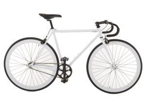 Vilano Attack Fixed Gear Bike Track Bike White Small (50cm)