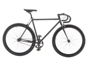 Vilano Attack Fixed Gear Bike Track Bike Matte Black Large (58cm)