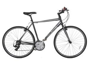 Vilano Performance Hybrid Bike 700c - 21 Speed Shimano Road Bike 58 cm Grey