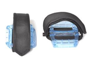 Fixed Gear Fixie Pedals Foot Strap - Pedals and Straps Blue