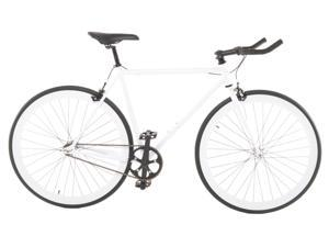 Vilano EDGE Fixed Gear /Single Speed Road Bike White 50cm