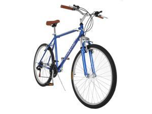 "Vilano C1 Mens Comfort Hybrid Road Bike 700c 21 Speeds Black 20"""