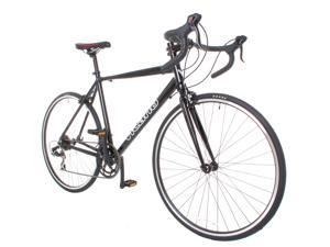 Vilano Shadow Road Bike - Shimano STI Integrated Shifters 54cm Black