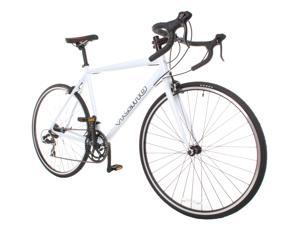 Vilano Shadow Road Bike - Shimano STI Integrated Shifters 50cm White