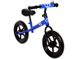 Childrens Balance Bike No Pedal Push Bicycle for Girls or Boys 12 in. Blue