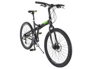 Vilano Midtown 26 Inch Folding Commuter Bike - Shimano 24 Speed Disc Brakes