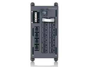 Telephone Distibution Input Panel, Black
