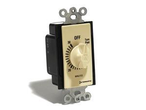 Spring Wound Wall Switch Timer (30 Min.) - Ivory