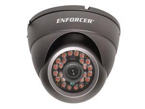 24 IR LED Indoor/Outdoor Vandal-Resistant Color Dome Camera
