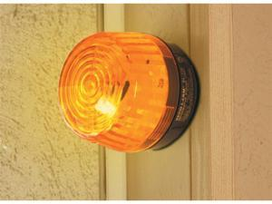 Security Strobe Lights Amber Lens