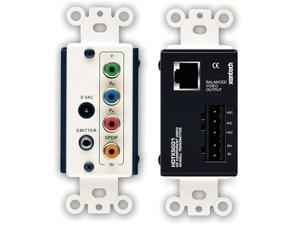 Single Gang HD Video Transmitter Module, Component and Cat. 5