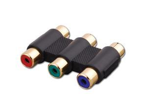 Vanco International 121256 Triple RGB Component Video Coupler