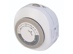 Westek TM77DHB Daily Timer with Grounded Outlet