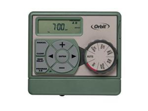 Orbit Irrigation 57856 6 Station Easy Dial Sprinkler Timer