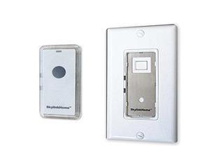 SkylinkHome WE-318 Lighting Receiver In-Wall On/Off Switch with Transmitter, 1,0