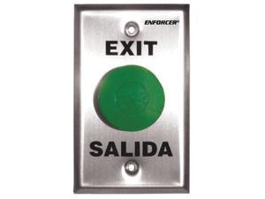 SECO-LARM SD-7201GC-PE1 Push-to-Exit Plate