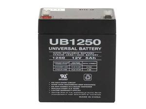 Universal Power Group D5741 UB1250-12V 5Ah Sealed AGM Lead Acid Universal Batter